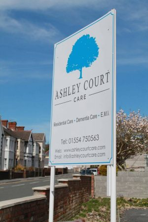 ashley court care residential home llanelli